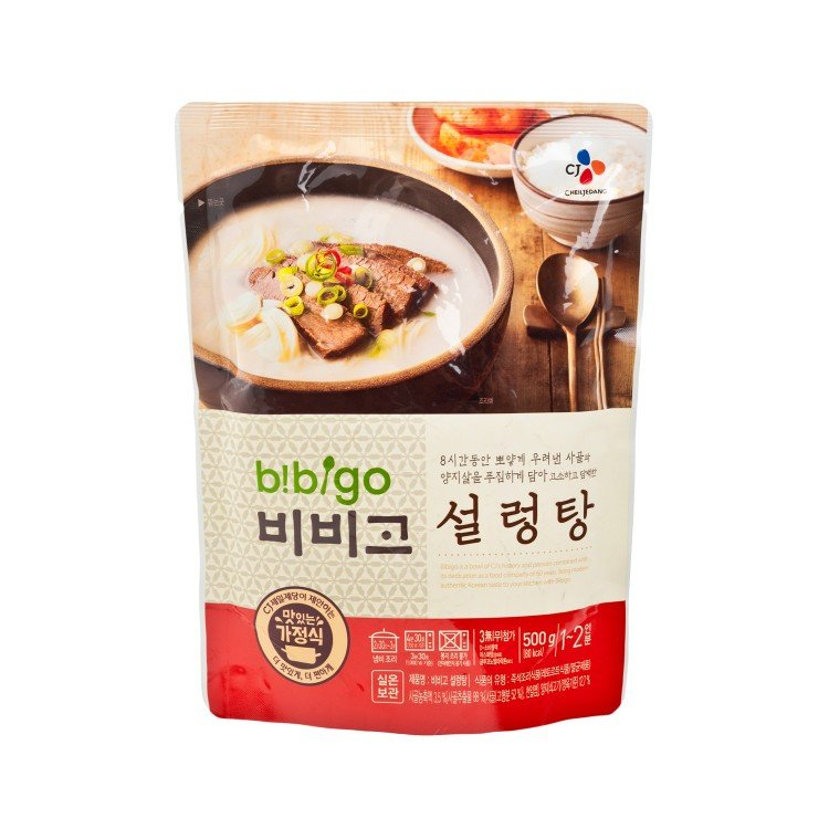 CJ - INSTANT SOUP-BEEF - 500G