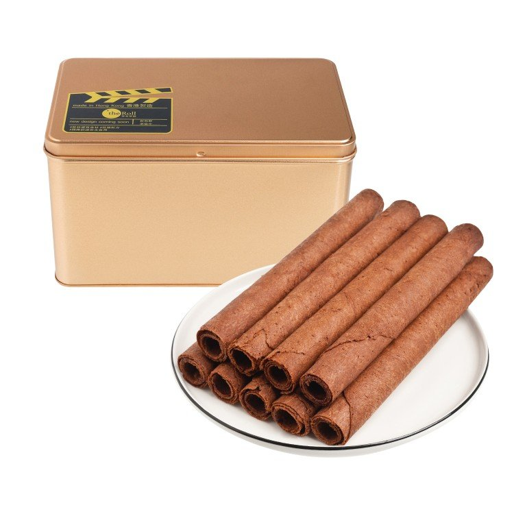 THE ROLL - EGG ROLLS-72% CHOCOLATE - 15'S