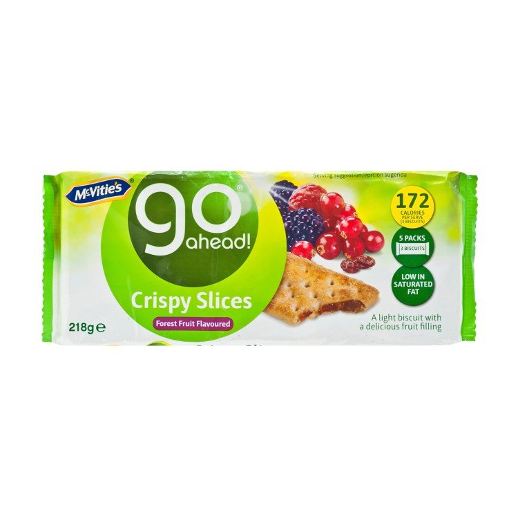 MCVITIE'S - GO AHEAD-FOREST FRUITS FLAVOR - 218G