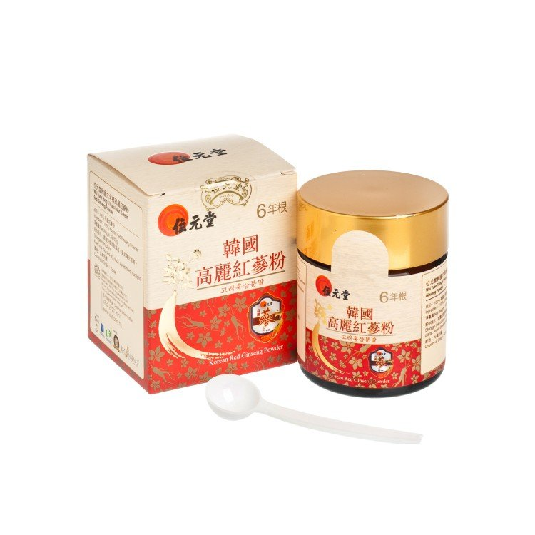 WAI YUEN TONG - 6 YEAES ROOT KOREAN RED GINSENG POWDER 60G - 60G
