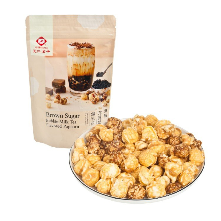TENREN TEA - POPCORN-BROWN SUGAR BUBBLE MILK TEA - 60G