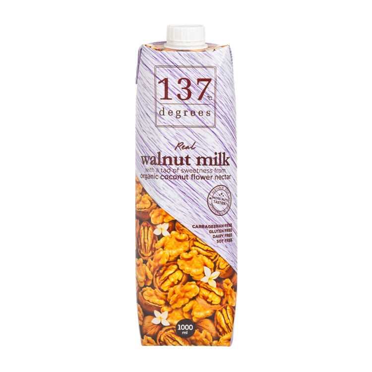 137 DEGREES - WALNUT MILK-ORIGINAL - 1L