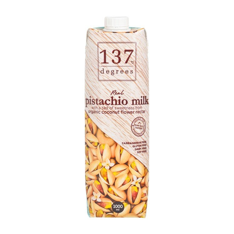 137 DEGREES - PISTACHIO MILK-ORIGINAL - 1L