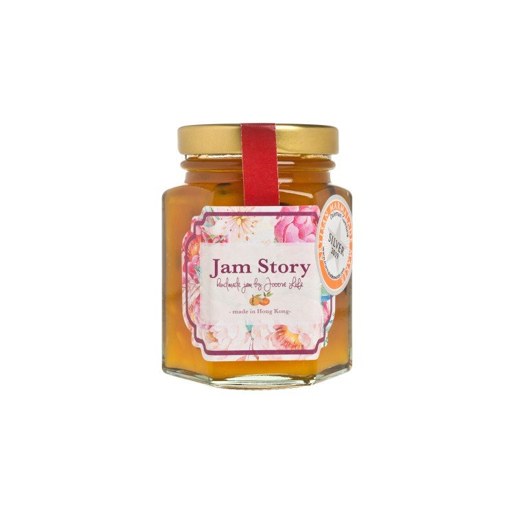 JAM STORY - ORANGE MANGO PASSION FRUIT YUZU LIQUEUR MARMALADE - 100G