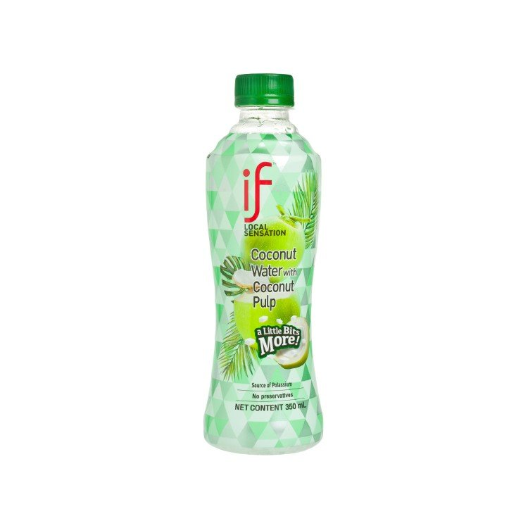 iF - 100% COCONUT WATER (WITH COCONUT PULP) - 350ML