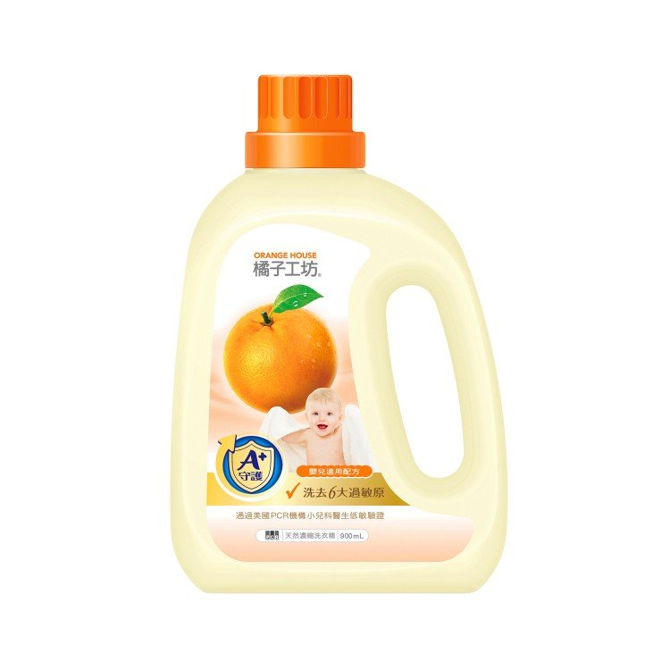 ORANGE HOUSE - BABY DETERGENT - 900ML
