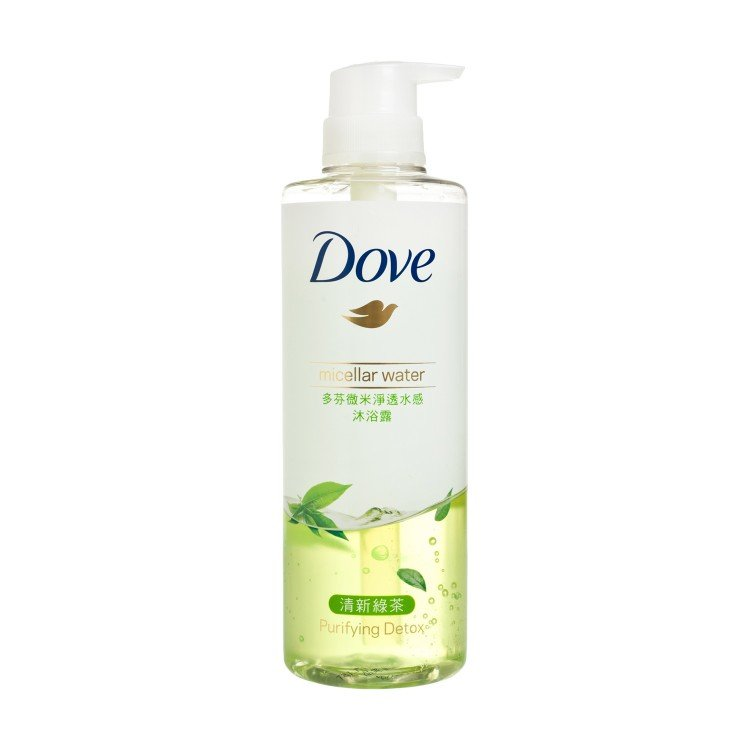 DOVE - MICELLAR WATER BOBY WASH-DETOX - 500ML