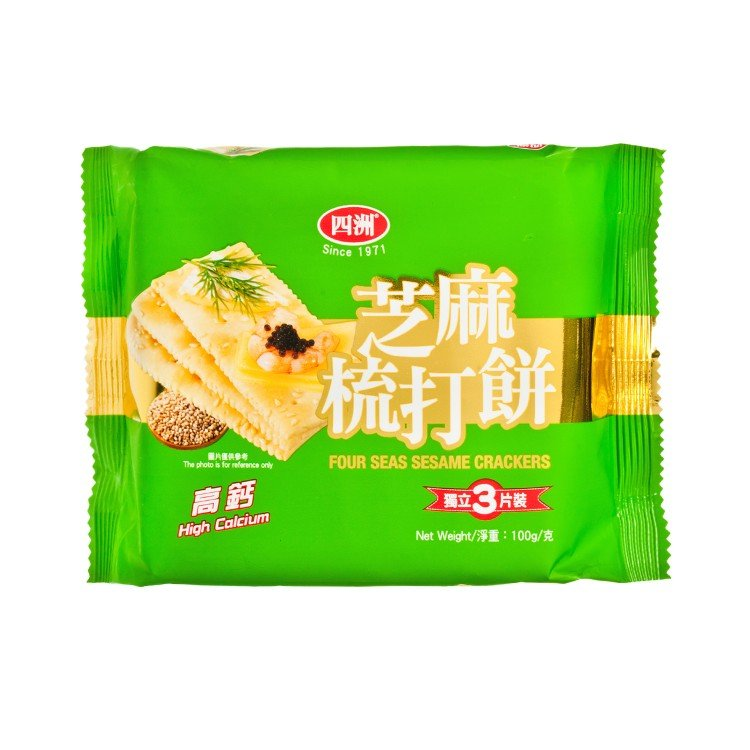 FOUR SEAS - SESAME CRACKERS - 100G