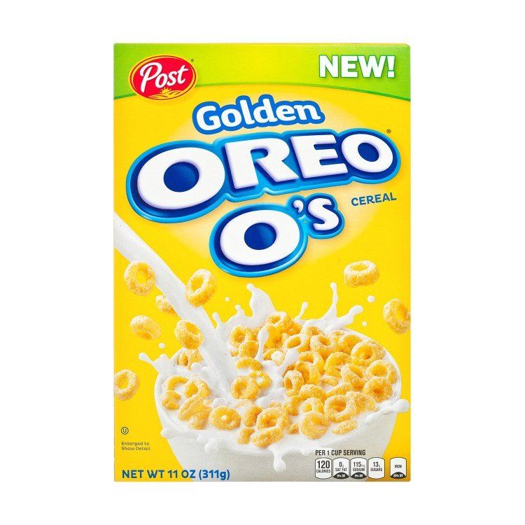 POST(PARALLEL IMPORT) - GOLDEN OREO O'S CEREAL - 311G