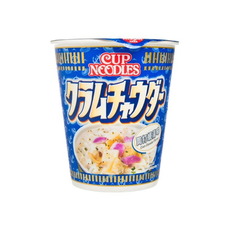 NISSIN - CUP NOODLE-CLAM CHOWDER FLAVOR - 75G