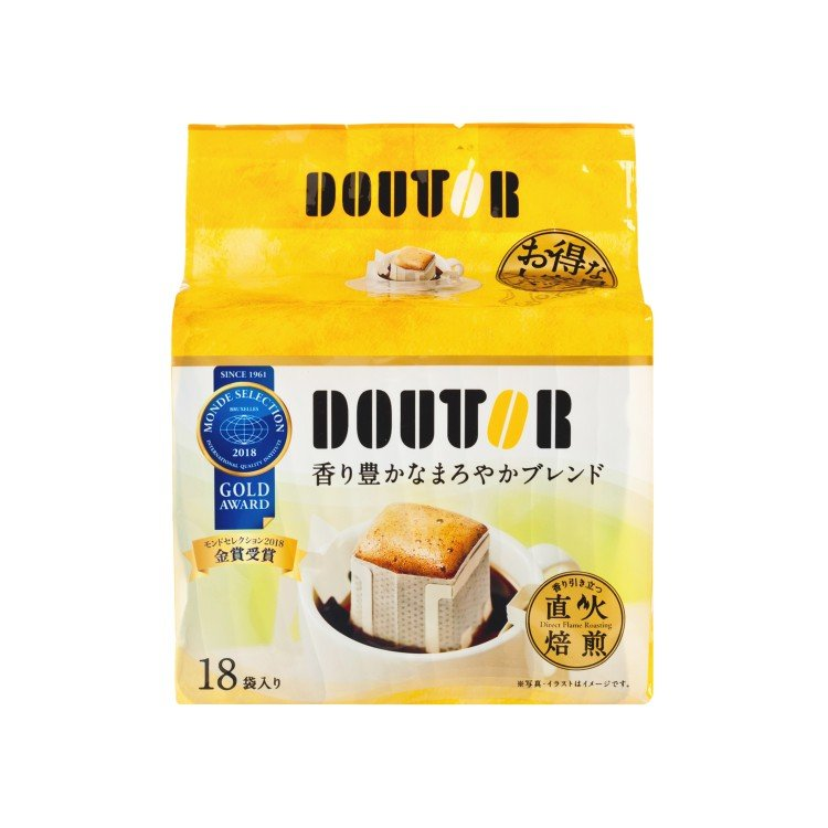 DOUTOR - FLAME ROASTING DRIP COFFEE - 7GX18
