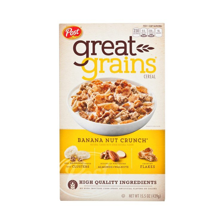 POST(PARALLEL IMPORT) - BANANA NUT CRUNCH CEREAL - 439G