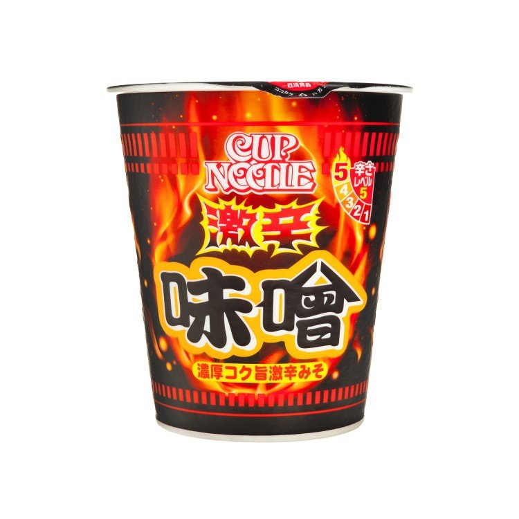 NISSIN - CUP NOODLE-SPICY MISO - 108G