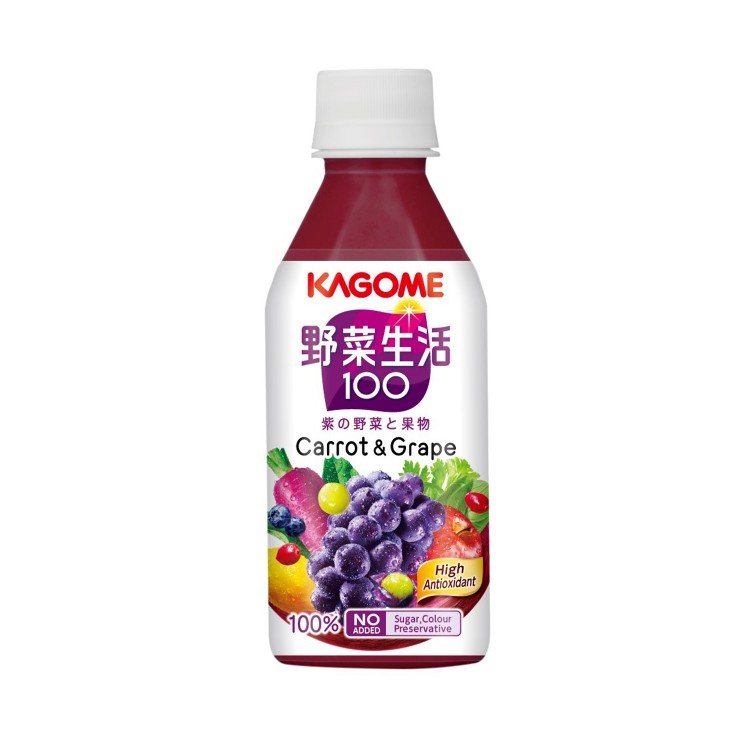 KAGOME - GRAPE MIXED JUICE - 280ML