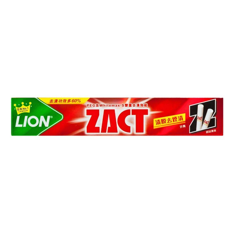 ZACT - TOOTHPASTE FOR SMOKER - 150G