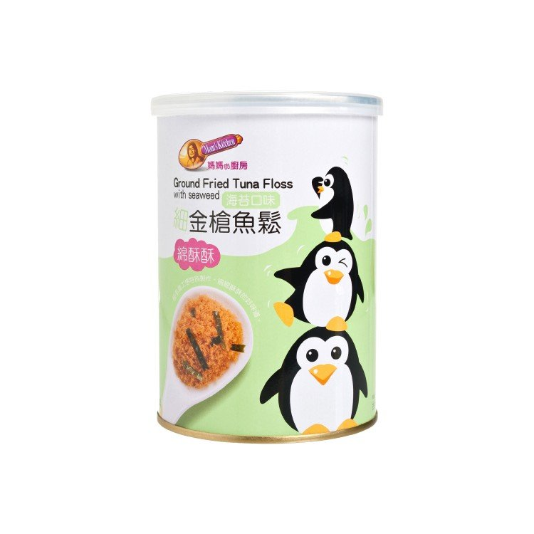 MOM'S KITCHEN - GROUND FRIED TUNA FLOSS WITH SEAWEED - 160G