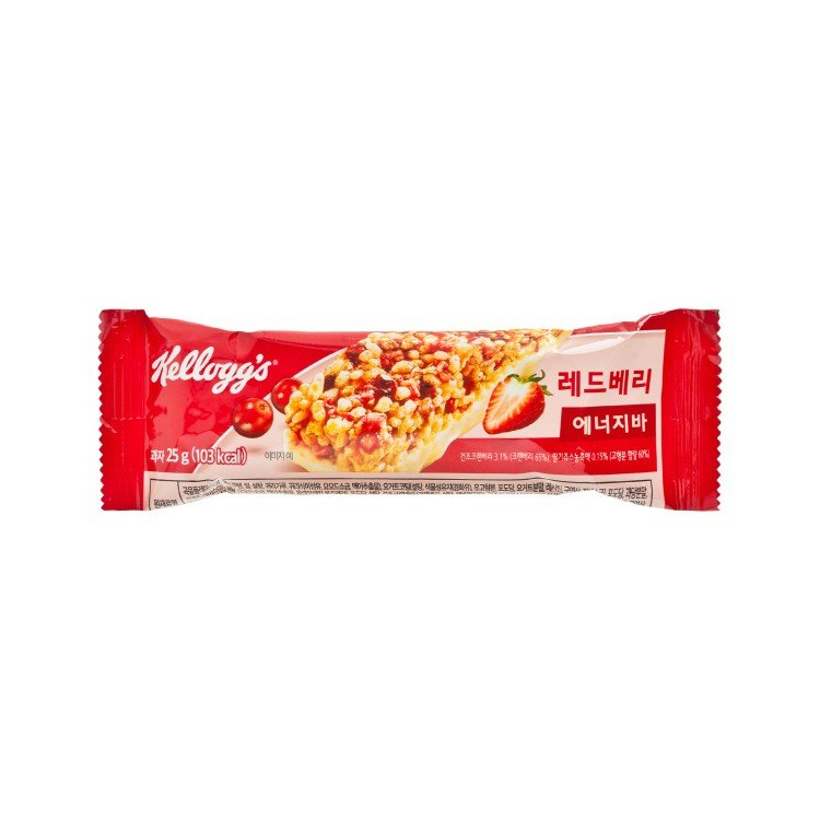 KELLOGG'S - CEREAL BAR-RED BERRIES - 25G