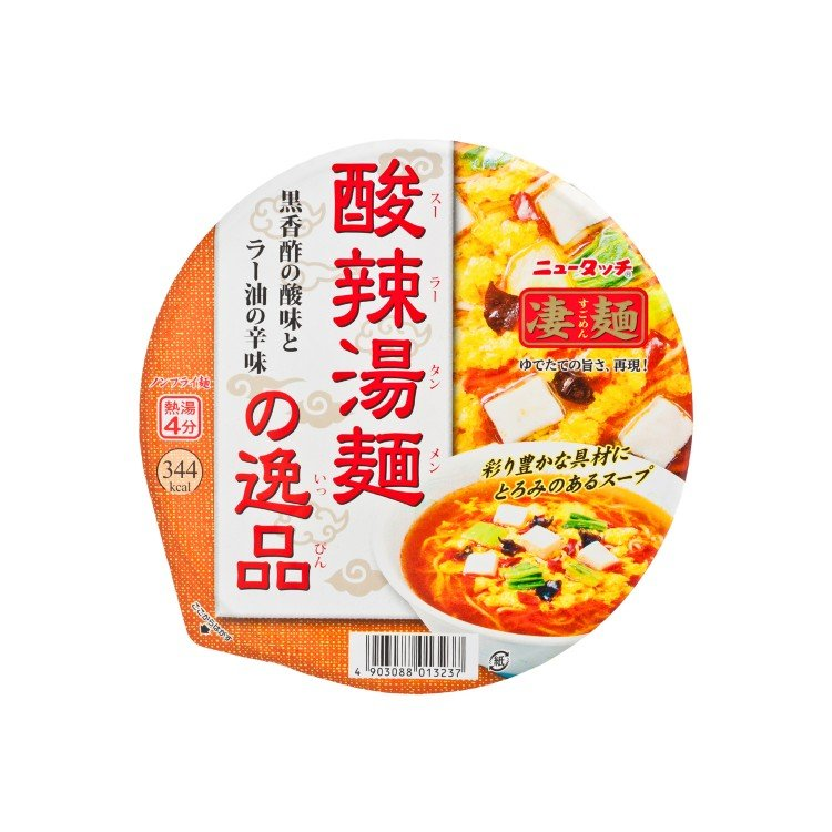 YAMADAI - BOWL NOODLE-SUGOMEN-IPPIN SWEET AND SOUR SOUP NOODLE - 111G