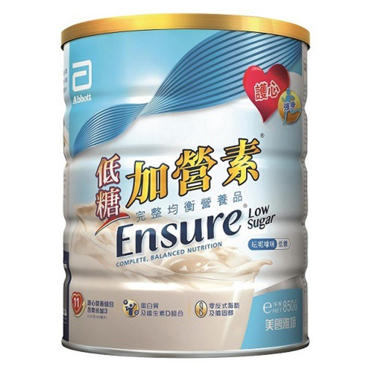 ABBOTT - ENSURE LOW SUGAR - 850G