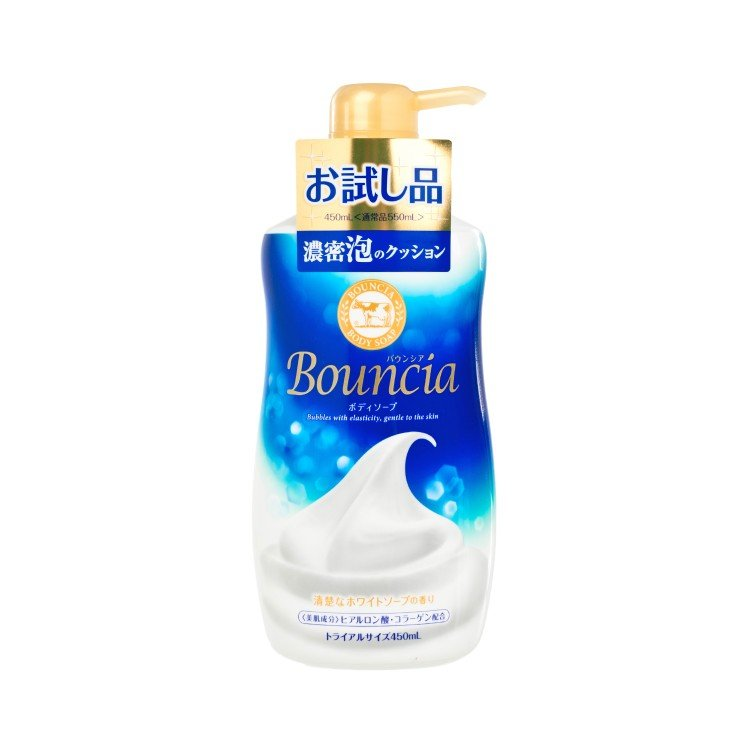 COW - BOUNCIA BODY SOAP (MILK FLAVOR) - 450ML