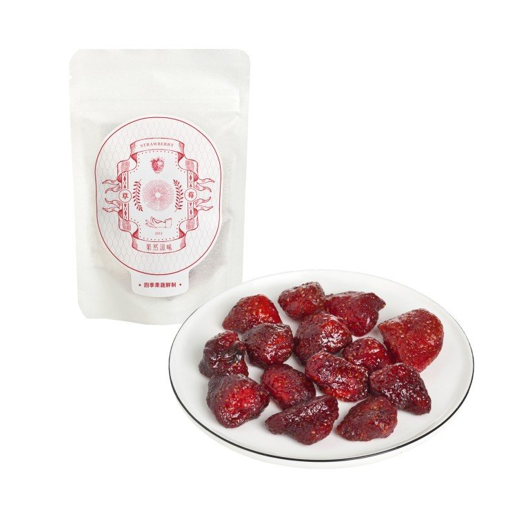 FRUITIONS - DRIED STRAWBERRY - 35G