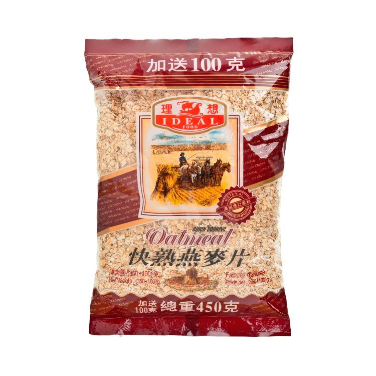 IDEAL - QUICK COOKING OATMEAL - 350G+100G