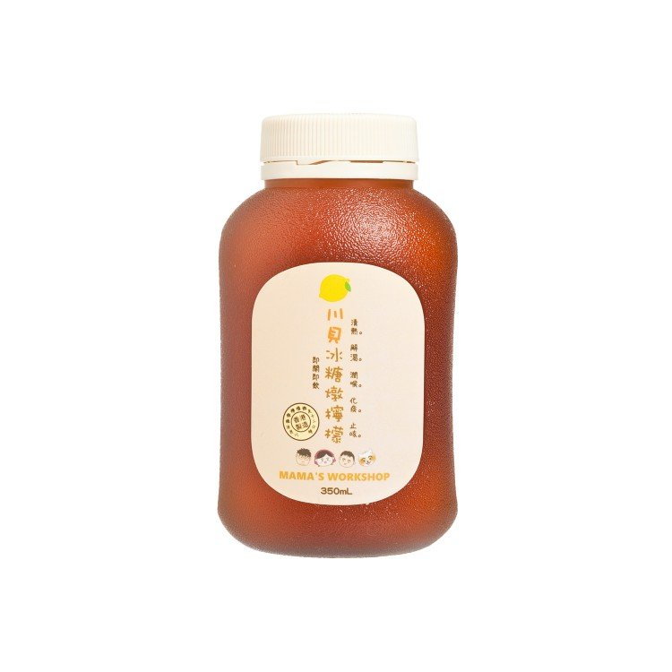 MAMA WORKSHOP - LEMON WITH CHUAN BEI AND ROCK SUGAR - 350ML