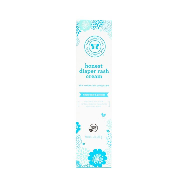 THE HONEST CO. - DIAPER RASH CREAM - 70.8G