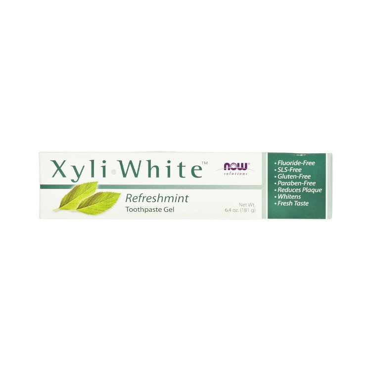 NOW FOODS - XYLIWHITE TOOTHPASTE MINT - 181G