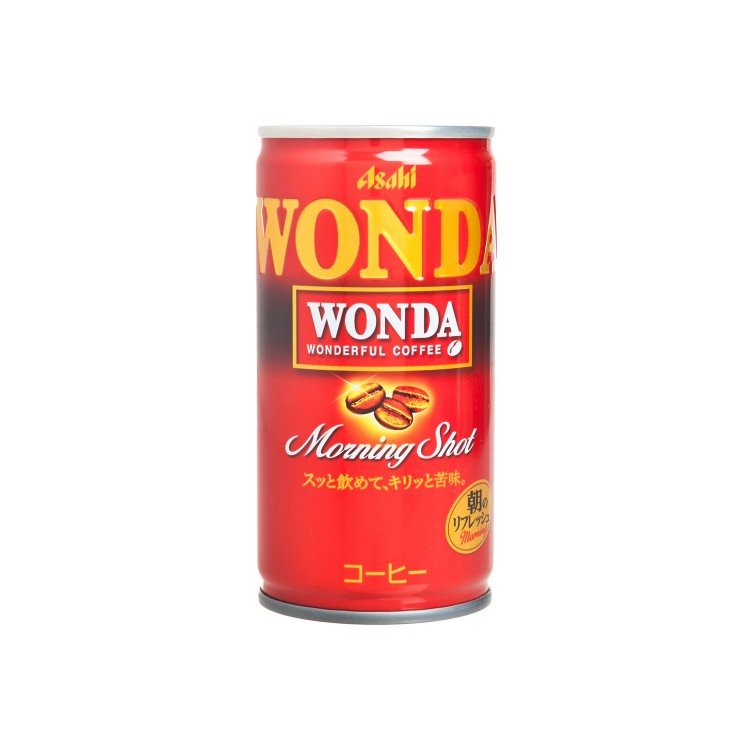 ASAHI - WONDA MORNING SHOT COFFEE - 185G