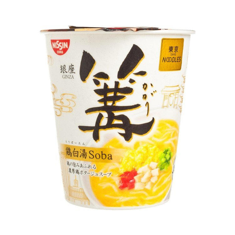 NISSIN - GINZA LOCAL STYLE CHICKEN SOBA - PC
