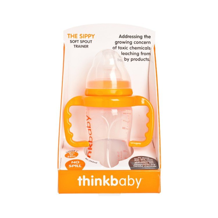 THINKBABY - THE SIPPY CUP-ORANGE - 255G