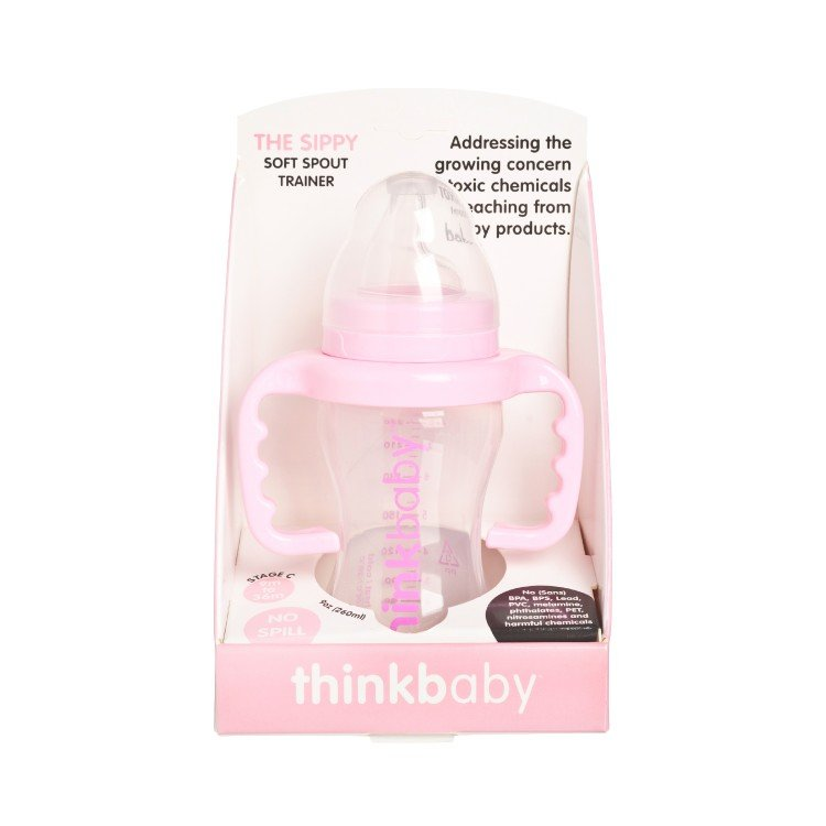 THINKBABY - THE SIPPY CUP-PINK - 255G