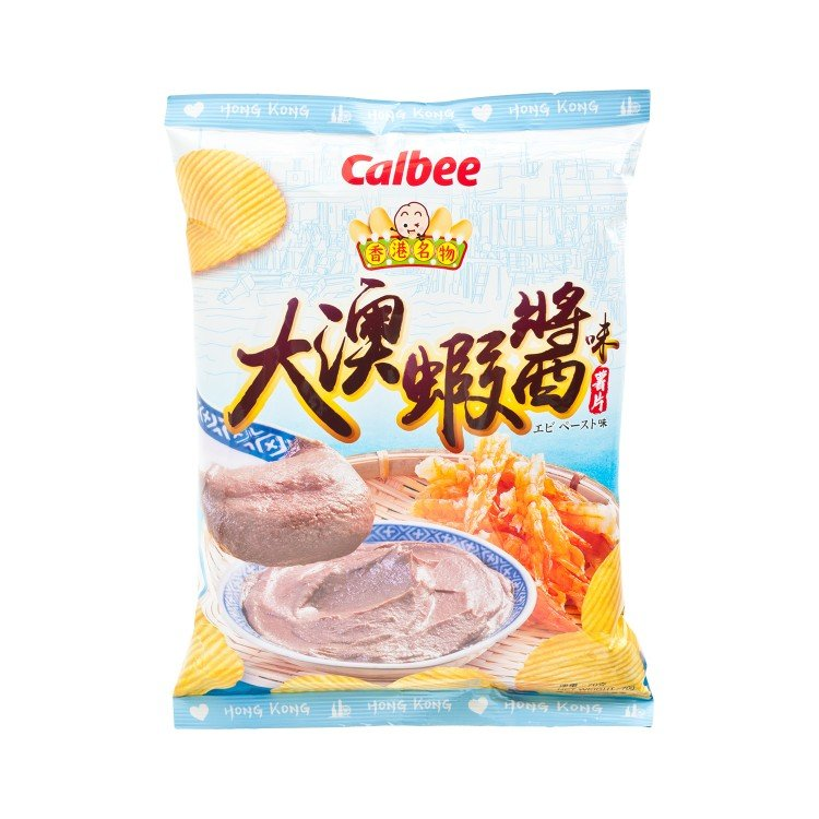 CALBEE - POTATO CHIPS-SHRIMP PASTE - 70G
