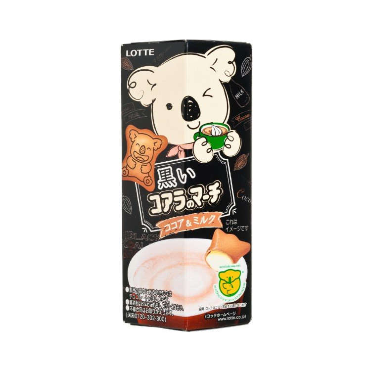 LOTTE - KOALA'S MARCH-COCOA & MILK - 48G