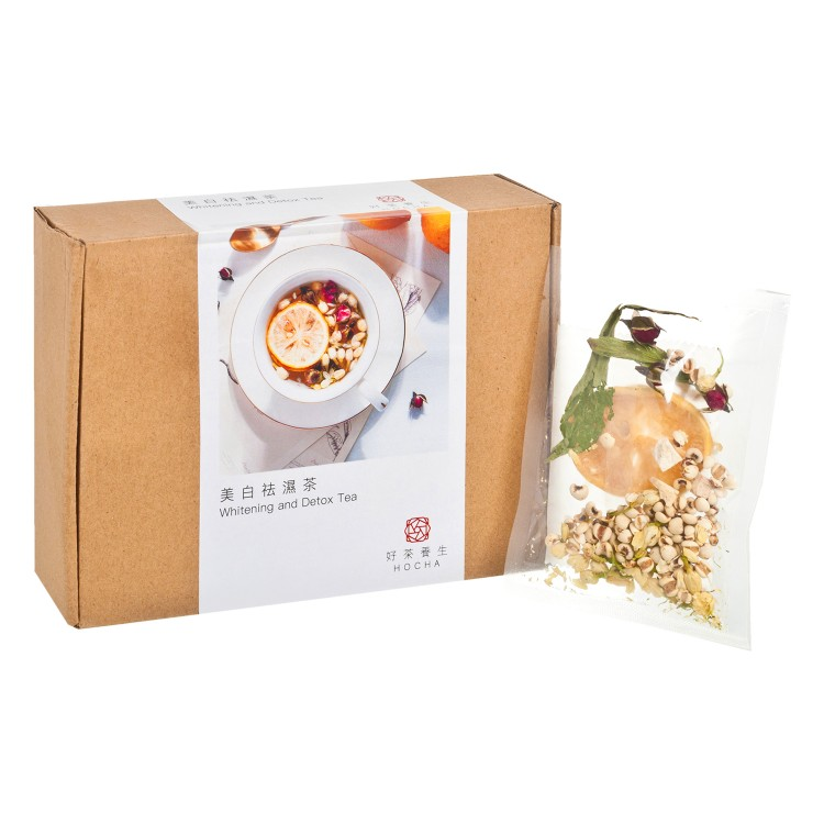 HO CHA - WHITENING AND DETOX TEA(REFILL BOX) - 10'S