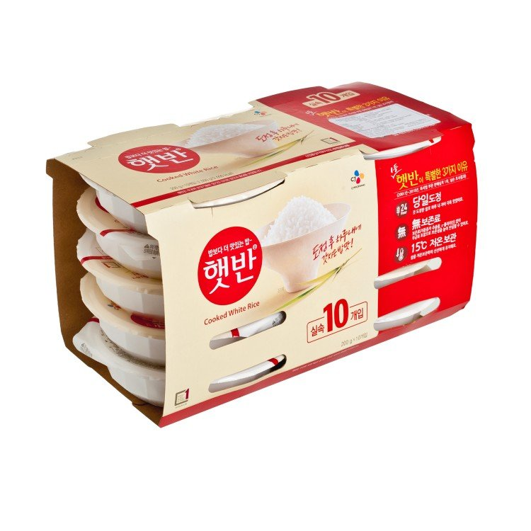 CJ - INSTANT WHITE RICE-CASE - 200GX10