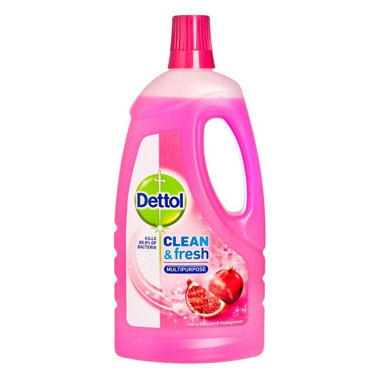 DETTOL(PARALLEL IMPORT) - POWER&FRESH ANTIBACTERIAL MULTI-PURPOSE CLEAENER-CHERRY BLOSSOM - 1L
