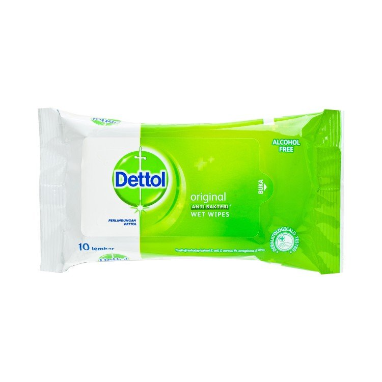 DETTOL(PARALLEL IMPORT) - ANTI BACTERIAL WET WIPES - 10'S
