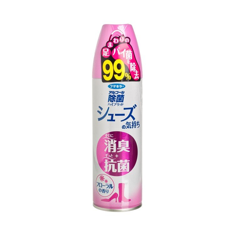 FUMAKILLA 象球牌 - DISINFECTANT AEROSOL FOR SHOES-FLORAL - 180ML