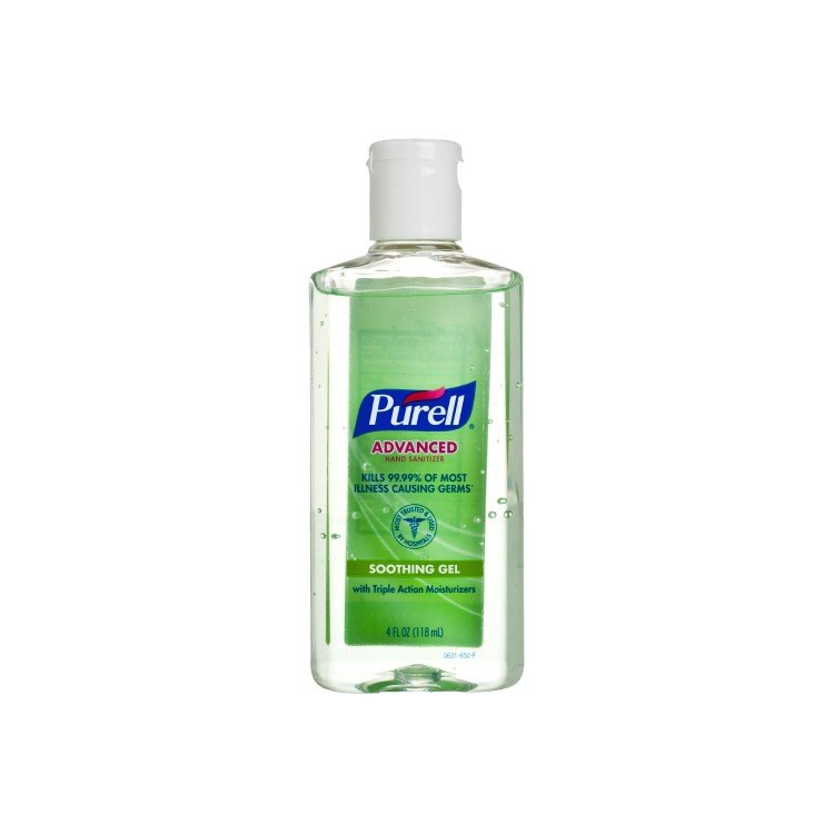 PURELL - ADVANCED HAND SANITIZER SOOTHING GEL - 118ML