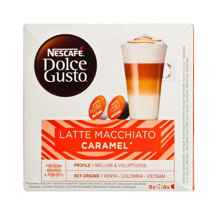 NESCAFE DOLCE GUSTO - 焦糖奶泡咖啡 - 8'S