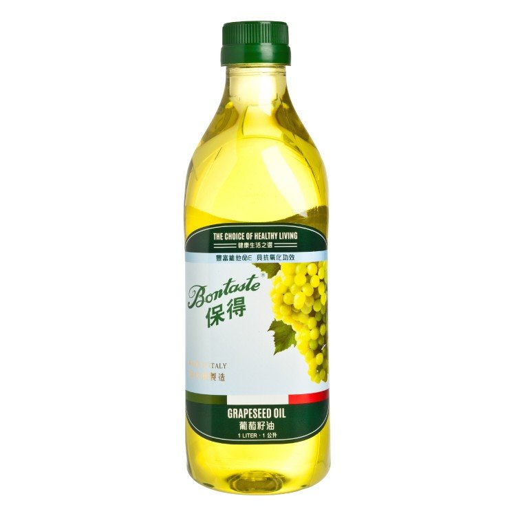 BONTASTE - GRAPESEED OIL - 1L