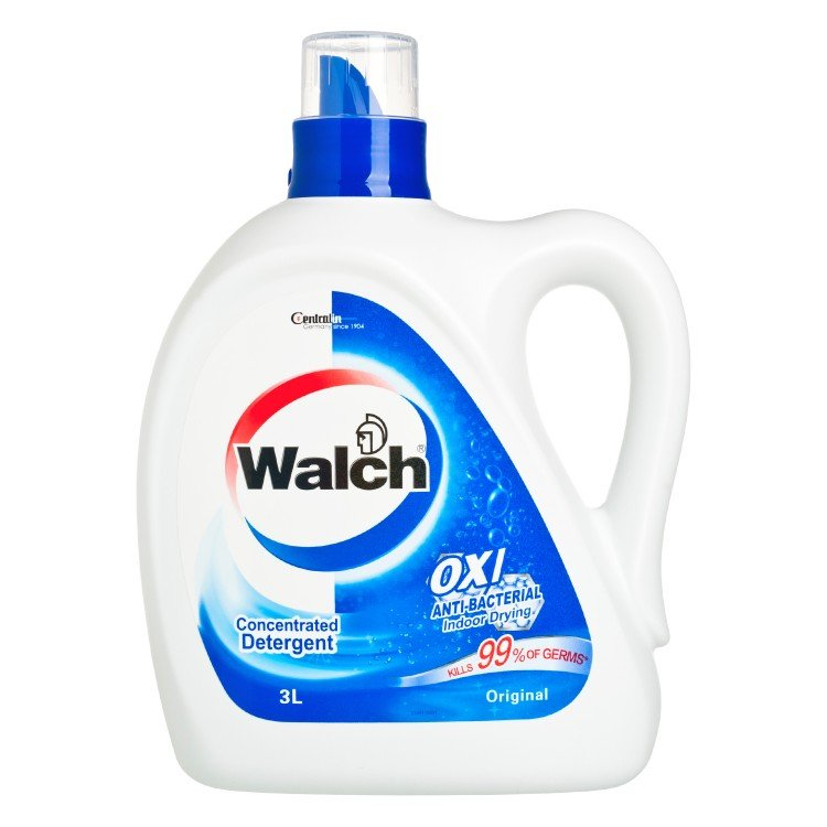 WALCH - ANTI-BACTERIAL LAUNDRY DETERGENT-ORIGINAL - 3L