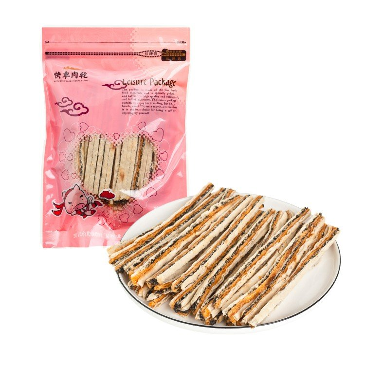 KUAICHE - C12  FISH SNACKS - 140G