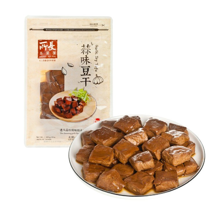 SHERIFF - DRY TOFU-GARLIC  - 240G