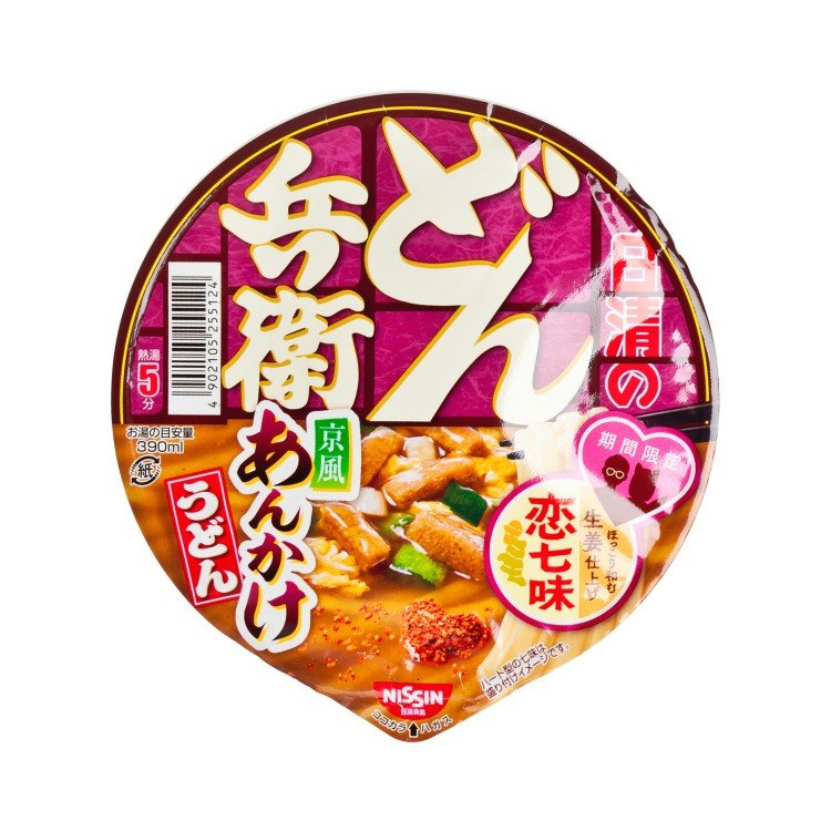 NISSIN - BOWL UDON-GINGER CHICKEN - PC
