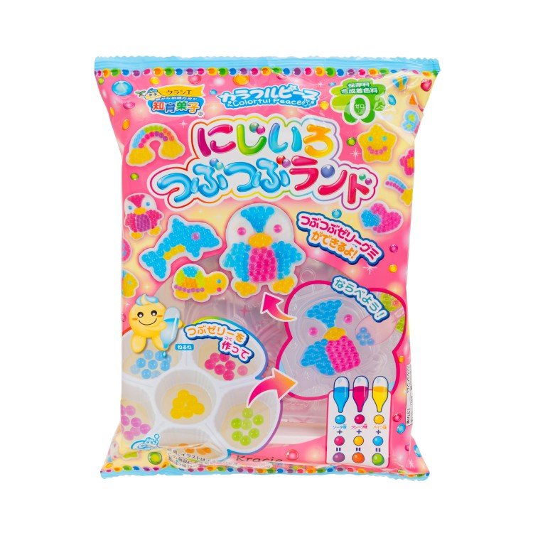 KRACIE - EDUCATIONAL CONFECTIONERY-DIY RAINBOW SWEET - 28G