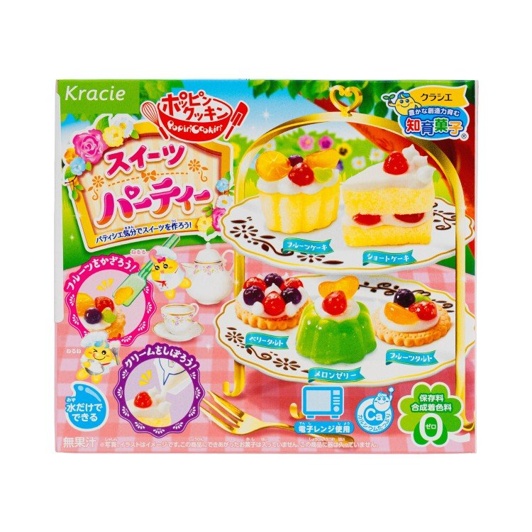 KRACIE - EDUCATIONAL CONFECTIONERY-DIY AFTERNOON TEA - 29G