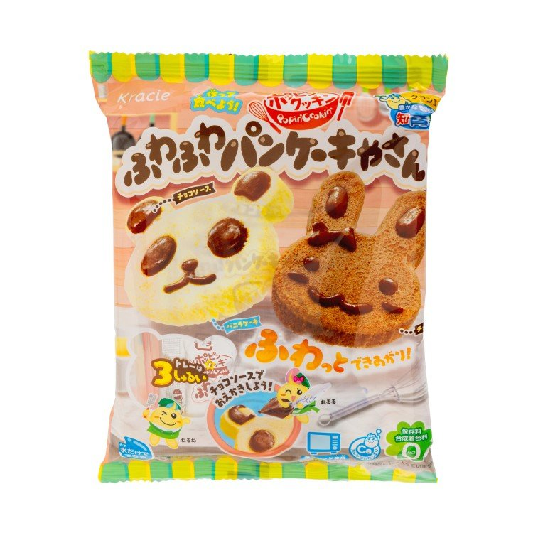 KRACIE - EDUCATIONAL CONFECTIONERY-DIY ANIMAL COOKIES - 36G